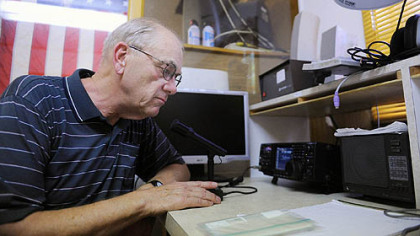 Steel City Amateur Radio Club president Art Mueller and other club members  will host a 24-hour  open house Saturday at the club's  Carnegie facility.