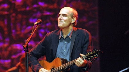 James Taylor in concert June 20 at the Petersen Center on the campus of the University of Pittsburgh.
