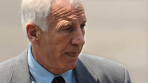 Sandusky awaiting the verdict - Pittsburgh Post-