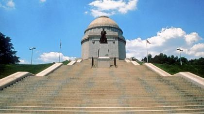 McKinley National Memorial in Canton, Ohio.