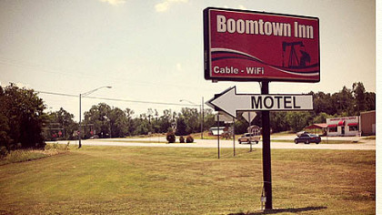 The Boomtown Inn near Drumright, Okla.