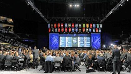 "A view of the ""Pit"" during the 2012 NHL Draft at the Consol Energy Center."