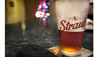 Tommy Jon's in downtown St. Mary's serves Straub beer on tap.