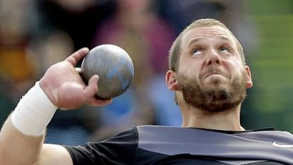 Harrisburg native Ryan Whiting qualified for the U.S. Olympic team in the shot put Sunday in Eugene, Ore.