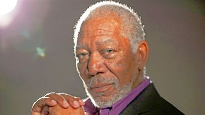 "Morgan Freeman hosts the Science Channel's ""Through the Wormhole."""