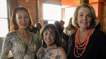 Michele Fabrizi, Ellen Kessler and Alice Snyder.