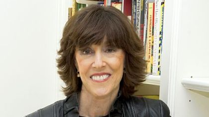 Writer-director Nora Ephron at her home in New York in 2010.