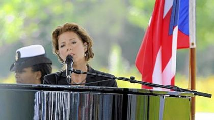 Sarah McLachlan performs at last year's dedication of the Flight 93 National Memorial in Shanksville.