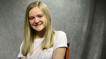 "Johanna Loughran, 12, will play the title role in Pittsburgh CLO's ""Annie."""