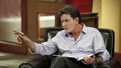 "Charlie Sheen tries for a win in his new series, ""Anger Management."""