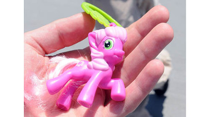 A My Little Pony figure