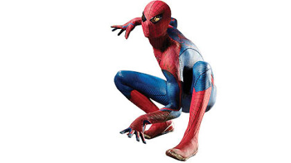 "Andrew Garfield is ""The Amazing Spider-Man."""
