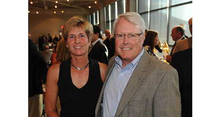 Debbie and FCGC president Art Scully.