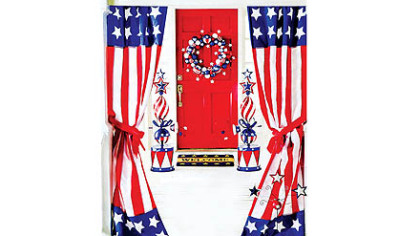 Patriotic merchandise from the Charles Keath catalog.