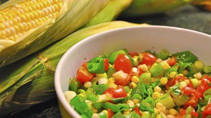 Roast Corn Salsa.