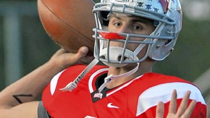 Former West Allegheny quarterback Dylan Bongiorni was named Pennsylvania's MVP at the Penn-Ohio Classic last Friday.