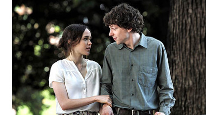 Ellen Page and Jesse Eisenberg in &quot;To Rome With Love&quot;