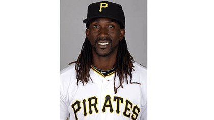 Pirates centerfielder Andrew McCutchen