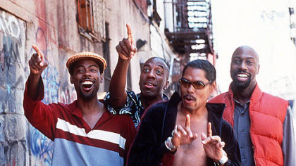 From left, Chris Rock, JB Smoove, Lance Crouther and Mario Joyner.