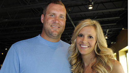Ben and Ashley Roethlisberger.