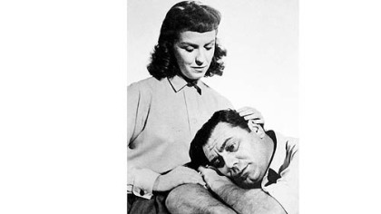 "Betsy Blair and Ernest Borgnine in ""Marty."""