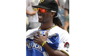 Andrew McCutchen was all smiles before a game Sunday at PNC Park, but later struck out with his tweets about travel delays, writes Ron Cook.