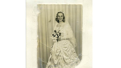 Ryta Sciullo, who was married on September 7, 1947.
