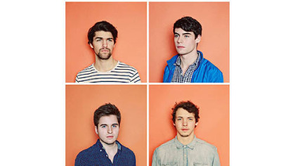 Beat Connection's (clockwise from top left) Tom Eddy, Reed Juenger, Jordan Koplowitz and Jarred Katz.