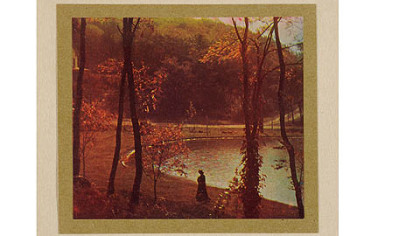 """Experiment in Three-Color Photography"" by Edward J. Steichen."