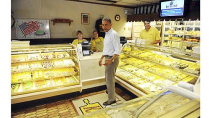 Obama in Beaver