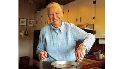 "Marion Cunningham made her mark in the kitchen. ""More than anyone else, she gave legitimacy to home cooking,"" said Michael Bauer, executive food editor of The San Francisco Chronicle."