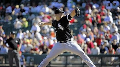Brian Omogrosso, a Blackhawk High School graduate, pitches for the Chicago White Sox.