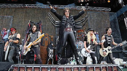 Alice Cooper and his band return to Stage AE Sunday.