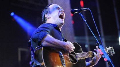 The Dave Matthews Band in concert last night at the Niagara Pavillion.