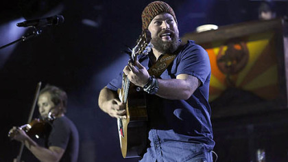 Zac Brown leads the Zac Brown Band at First Niagara Pavilion Sunday night.
