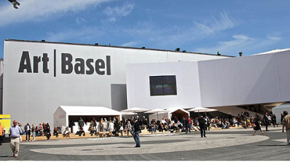 One of the two main Art Basel 43 buildings.