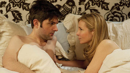 "Adam Scott and Jennifer Westfeldt try to be just ""Friends With Kids."""