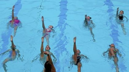 Forest Hills Sychronized Swim Team will perform its annual show at 8:30 p.m. Aug. 5 at Forest Hills Community Pool.