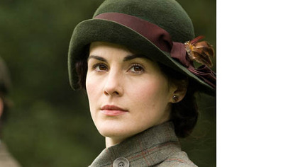 "Michelle Dockery as Lady Mary in ""Downton Abbey."""