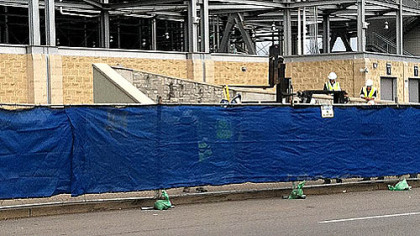 The Joe Paterno statue has been removed from outside Beaver Stadium at Penn State University.