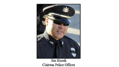 Clairton Police Officer Jim Kuzak Jr.