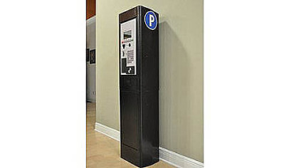 The newfangled parking fee meter thing.