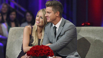 """I found the perfect man,"" said ""The Bachelorette's"" Emily Maynard of her finance, Jef Holm. The two became engaged on the reality show's season 8 finale."