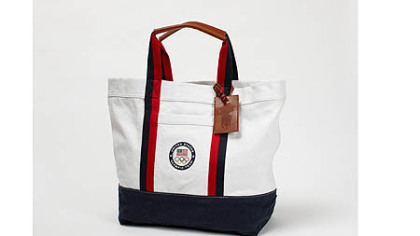 Ralph Lauren Olympic tote bag, $165 at ralphlauren.com.