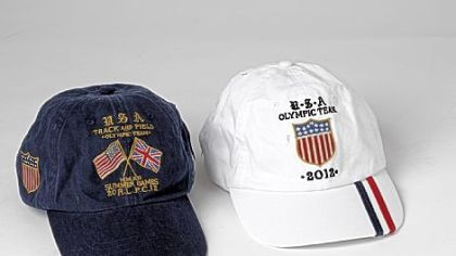 USA-UK flag sport cap by Ralph Lauren, $55 at ralphlauren.com.