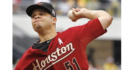 The Pirates traded for Houston Astros starting pitcher Wandy Rodriguez.