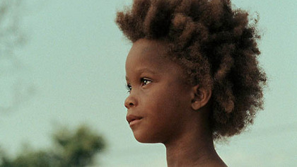 "Quvenzhane Wallis shines in ""Beasts of the Southern Wild."""