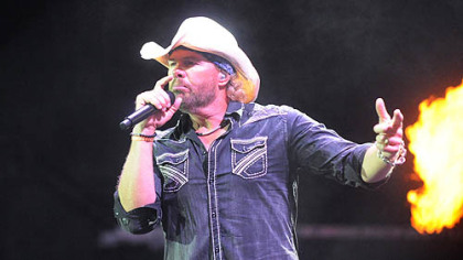 Toby Keith in Concert at First Pavillion.