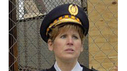 Pittsburgh Police Cmdr. Linda Rosato-Barone was seriously injured after a car crossed the center line and struck her vehicle head-on in Robinson. Cmdr. Rosato-Barone was off-duty at the time.