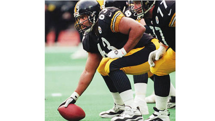 Steelers center Dermontti Dawson will be inducted into the Pro Football Hall of Fame Saturday in Canton, Ohio.